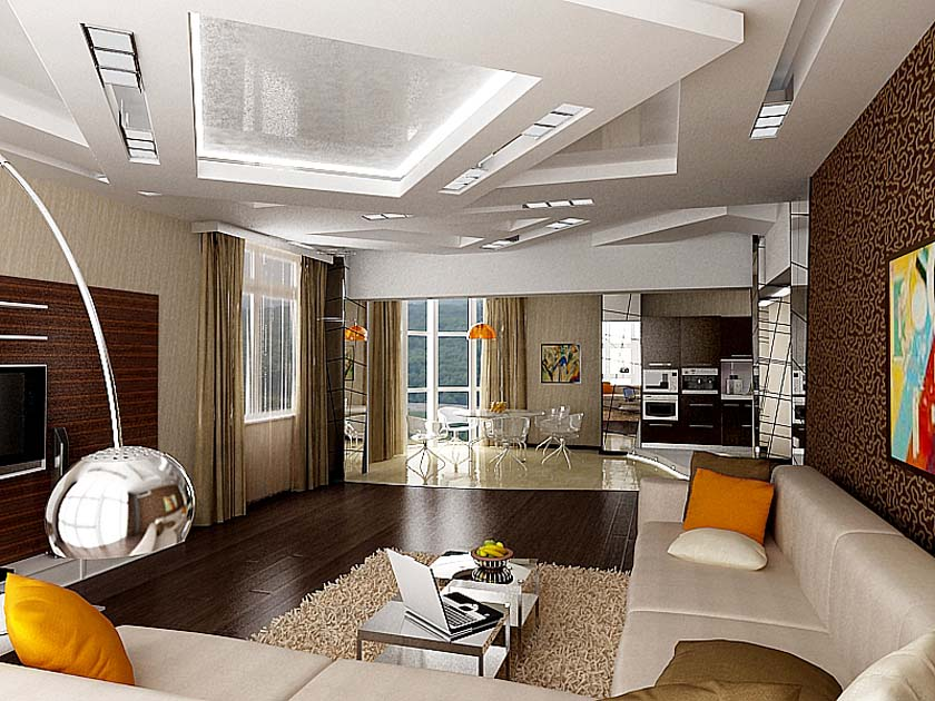 Дизайн квартиры внутри