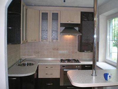Дизайн кухни 9кв м