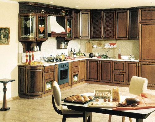 Дизайн кухни совмещенной с гостинной
