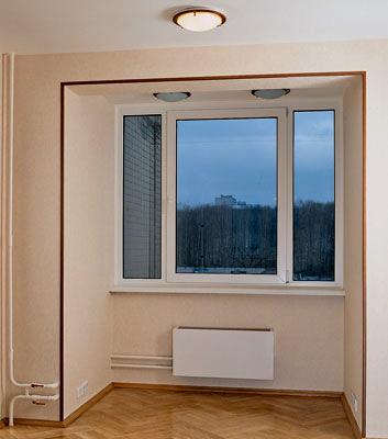 Совмещение балкона , лоджии с жилым помещением.