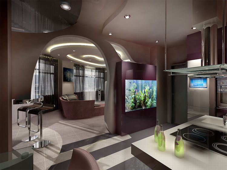Дизайн кухни 6м2