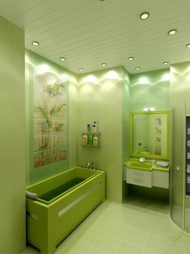 В картинках дизайн ванных комнат в